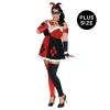 DC Comics Super Villans Harley Quinn Plus Size Adult Costume